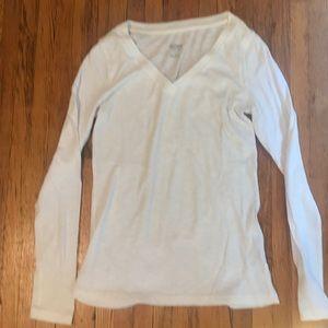 Mossimo white long sleeve shirt